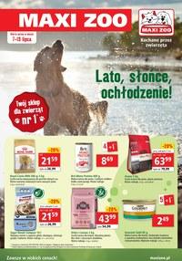 Gazetka promocyjna Maxi ZOO - Maxi Zoo - promocje lipca - ważna do 13-07-2021