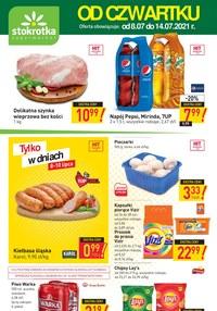 Gazetka promocyjna Stokrotka Supermarket - Od czwartku w Stokrotce - ważna do 14-07-2021