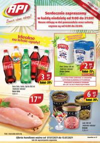 Gazetka promocyjna Api Market - Zawsze udane zakupy w Api Market!   - ważna do 13-07-2021