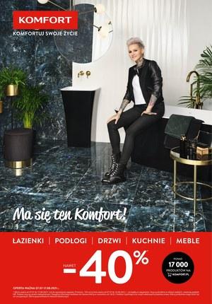 Gazetka promocyjna Komfort -  Ma się ten Komfort!
