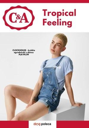 Gazetka promocyjna C&A - Tropikalna moda w C&A