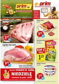 Gazetka promocyjna Prim Market - Świeżo i lokalnie w Prim Market!   - ważna do 14-07-2021
