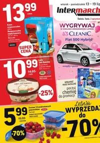 Gazetka promocyjna Intermarche Super - Letnia wyprzedaż w Intermarche   - ważna do 19-07-2021