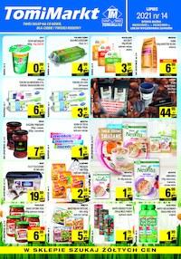 Gazetka promocyjna TomiMarkt - Oferta handlowa sieci TomiMarkt - ważna do 22-07-2021