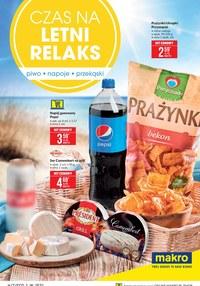 Gazetka promocyjna Makro Cash&Carry - Letni relaks z Makro - ważna do 26-07-2021