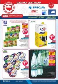 Gazetka promocyjna Specjał - Okazje cenowe w sklepach Specjał - ważna do 18-07-2021