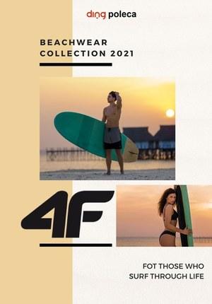 Gazetka promocyjna 4F - Kolekcja plażowa w 4F