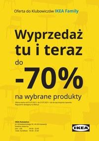 Gazetka promocyjna IKEA - Wyprzedaż tu i teraz w IKEA Katowice