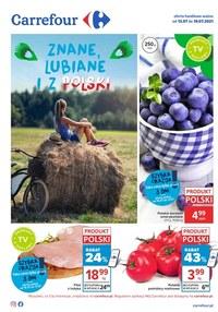 Gazetka promocyjna Carrefour - Carrefour - rozsmakuj się w Polsce - ważna do 19-07-2021