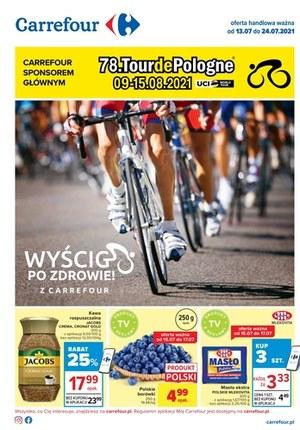 Gazetka promocyjna Carrefour - Wyścig po zdrowie z Carrefour