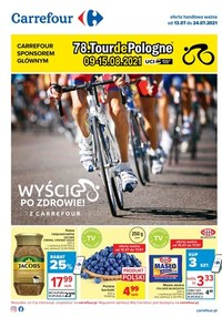 Gazetka promocyjna Carrefour - Wyścig po zdrowie z Carrefour - ważna do 24-07-2021