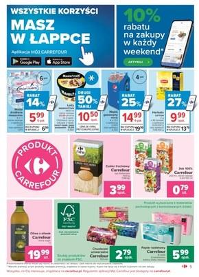 Oferta handlowa sieci Carrefour Market