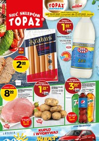 Gazetka promocyjna Topaz - Topaz - sprawdź nową gazetkę! - ważna do 21-07-2021