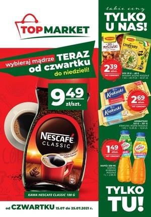 Gazetka promocyjna Top Market - Takie ceny tylko w Top Market!