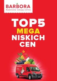 Gazetka promocyjna Barbora - Barbora - top 5 mega niskich cen - ważna do 19-07-2021