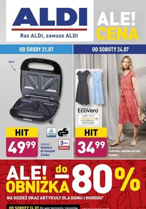 Gazetka promocyjna Aldi - Wielkie obniżki w Aldi