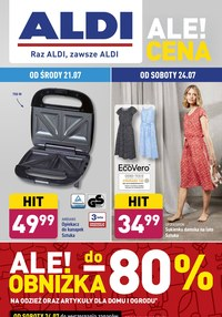 Gazetka promocyjna Aldi - Wielkie obniżki w Aldi - ważna do 24-07-2021