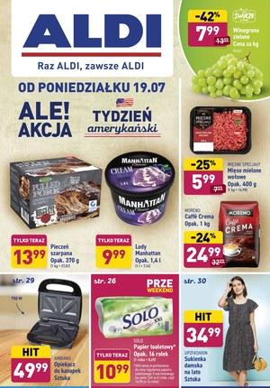 Gazetka promocyjna Aldi - Oferta spożywcza Aldi