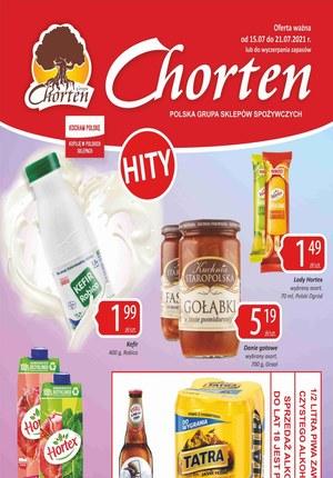 Gazetka promocyjna Chorten - Hity cenowe w sklepach Chorten!