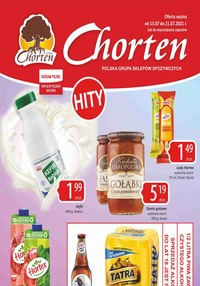 Gazetka promocyjna Chorten - Hity cenowe w sklepach Chorten! - ważna do 21-07-2021