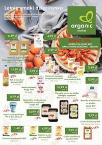 Gazetka promocyjna Organic - Organic - letnie smaki dzieciństwa - ważna do 25-07-2021