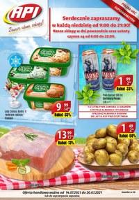 Gazetka promocyjna Api Market - Zawsze udane zakupy w Api Market!    - ważna do 20-07-2021