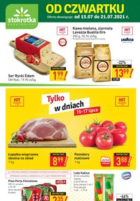 Gazetka promocyjna Stokrotka Supermarket - Tanie zakupy w Stokrotka Supermarket    - ważna do 21-07-2021