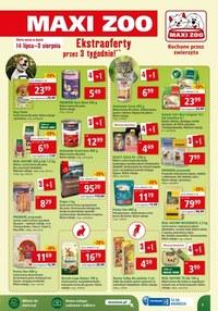 Gazetka promocyjna Maxi ZOO - Ekstra oferty przez 3 tygodnie w Maxi ZOO