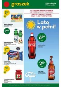 Gazetka promocyjna Groszek  - Lato w pełni w sklepach Groszek - ważna do 27-07-2021