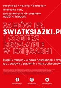 Gazetka promocyjna Księgarnie Świat Książki - Księgarnie Świat Książki - zniżki do 50%