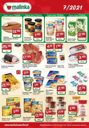 Gazetka promocyjna MALINKA Market - Super ceny Malinki