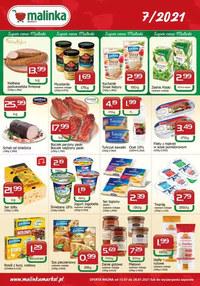 Gazetka promocyjna MALINKA Market - Super ceny Malinki - ważna do 28-07-2021