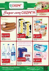 Gazetka promocyjna Delikatesy CEZAR - Super ceny Cezara   - ważna do 28-07-2021