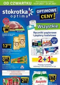 Gazetka promocyjna Stokrotka Optima - Optimowe ceny w Stokrotce!    - ważna do 21-07-2021