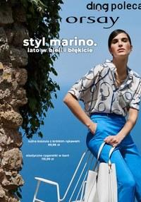 Gazetka promocyjna Orsay - Styl marino w Orsay   - ważna do 12-08-2021