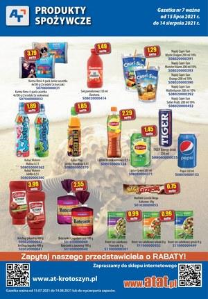 Gazetka promocyjna At - At - nowa oferta spożywcza