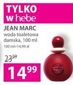 Woda toaletowa Jean Marc