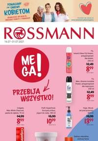 Gazetka promocyjna Rossmann - Mega promocje w Rossmannie   - ważna do 31-07-2021