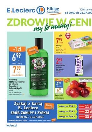 Gazetka promocyjna E.Leclerc - Zdrowie w cenie Elbląg