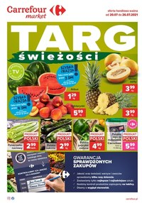 Gazetka promocyjna Carrefour Market - Carrefour Market - Targ świeżości - ważna do 26-07-2021