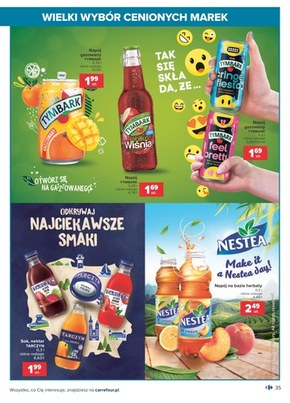 Wielki wybór cenionych marek - Carrefour