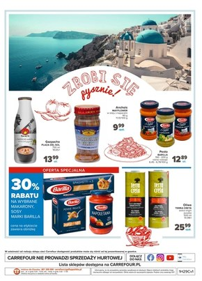 Carrefour Market - potrawy słońcem przyprawiane