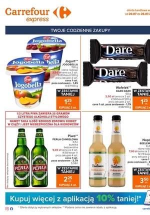 Gazetka promocyjna Carrefour Express - Twoje codzienne zakupy - Carrefour Express