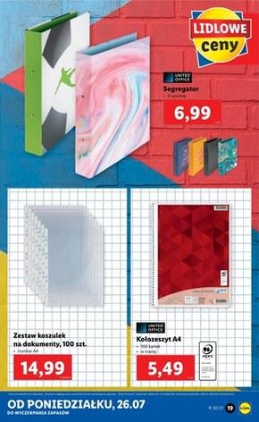 Katalog witaj szkoło - Lidl