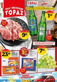 Gazetka promocyjna Topaz - Topaz - nowa oferta promocyjna - ważna do 28-07-2021