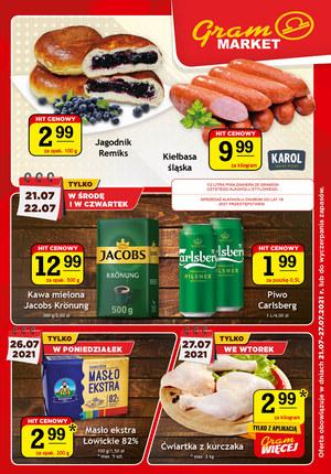 Gazetka promocyjna Gram Market - Gazetka promocyjna Gram Market!