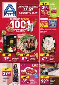 Gazetka promocyjna Aldi - Pełna oferta promocyjna Aldi   - ważna do 31-07-2021