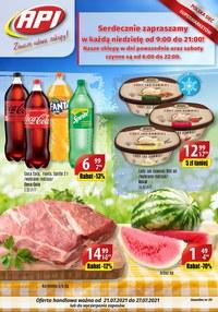 Gazetka promocyjna Api Market - Zawsze udane zakupy w Api Market!    - ważna do 27-07-2021