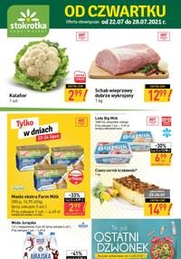 Gazetka promocyjna Stokrotka Supermarket - Stokrotkowe hity na nowy tydzień - ważna do 27-07-2021