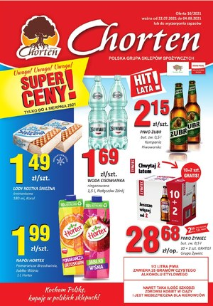 Gazetka promocyjna Chorten - Chorten Podlasie - oferta handlowa